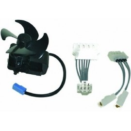 CONVOGLIATORE ARIA COMPLETO NOFROST-70 KIT MOTOR FAN ORIGINALE ARISTON C00116498